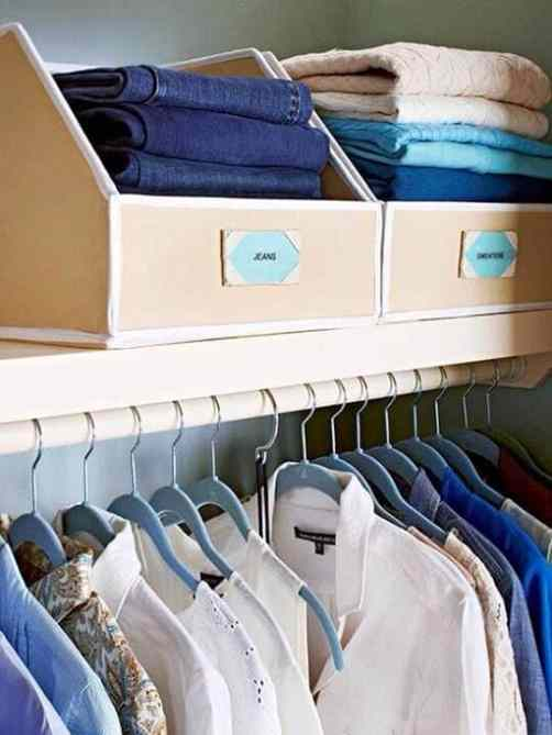 Closet Organization Hacks - Get your closet sorted with these brilliant ideas
