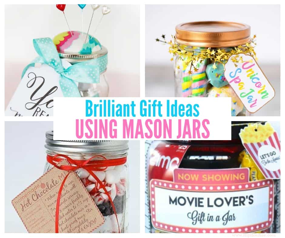 Brilliant Gift Ideas Using Mason Jars