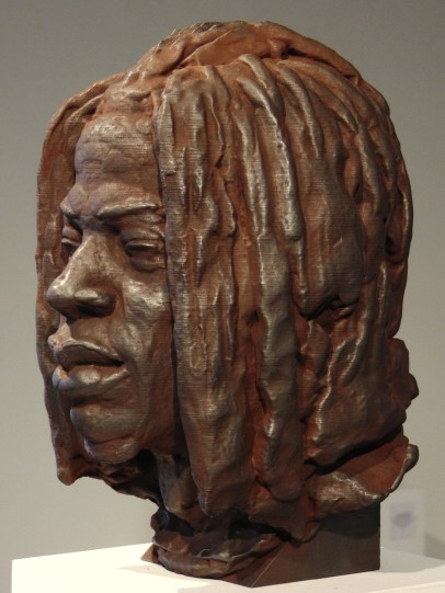 Rodman Edwards, OMB Peezy, 2018-2019, Iron oxide and graphite on polylactide