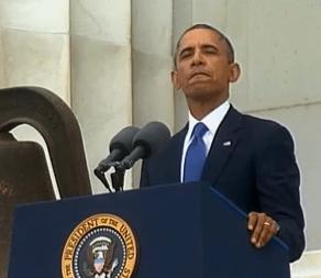 President Obama 50th anniversary