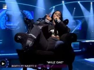 Boity – Wuz Dat (Live Amp Performance)