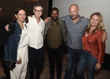 """LOS ANGELES, CA - AUGUST 16: Maya Rudolph, Paul Thomas Anderson, David Oyelowo, Jacob Estes and Gretchen Lieberum at the Ava Duvernay Hosted Special Screening of the Blumhouse film """"Don't Let Go"""" at the Amanda Theater at Array Creative Campus on August 16, 2019 in Los Angeles, California. (Photo by Scott Kirkland/Blumhouse/PictureGroup)"""