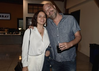 """LOS ANGELES, CA - AUGUST 16: Maya Rudolph and Jacob Estes at the Ava Duvernay Hosted Special Screening of the Blumhouse film """"Don't Let Go"""" at the Amanda Theater at Array Creative Campus on August 16, 2019 in Los Angeles, California. (Photo by Scott Kirkland/Blumhouse/PictureGroup)"""