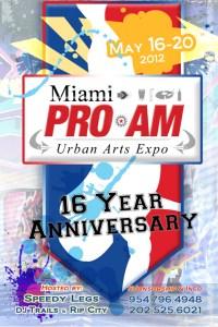 Miami Pro-Am 2012 Flyer