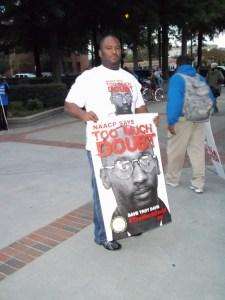 Troy Davis supporter 3