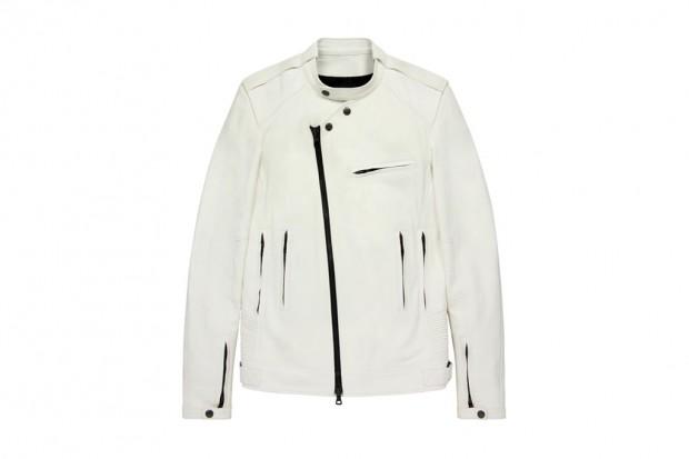 Balmain leather biker jacket. Balmain leather biker jacket. Marc Jacobs  raccoon fur trapper hat 967850f36948