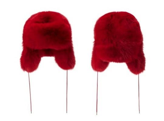 Warm   Fuzzy... Marc Jacobs Fox Fur Hat!!! • Hip Hop Enquirer ... b81b65363e02