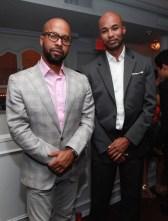 Kenny Burns (L) and Darius Hines