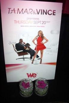 """We TV's """"Tamar & Vince"""" Signage"""