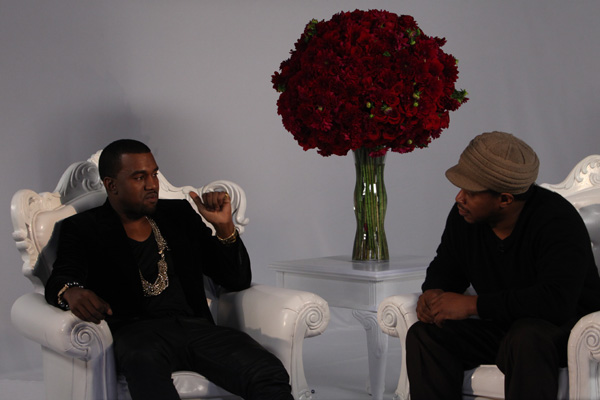 kanye west and sway calloway