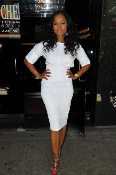 Garcelle Beauvais Arrives For The Wendy Williams Show