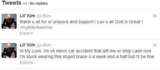 lil kim tweets