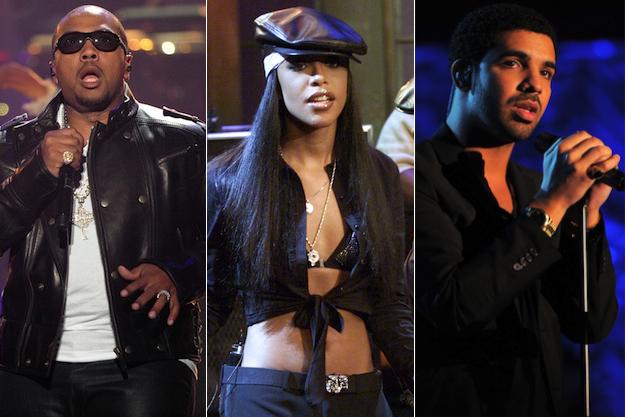 Timbaland-Aaliyah-Drake