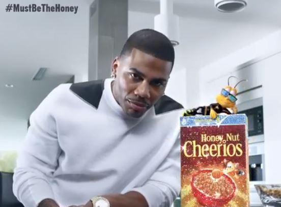 nelly honey nut cheerios