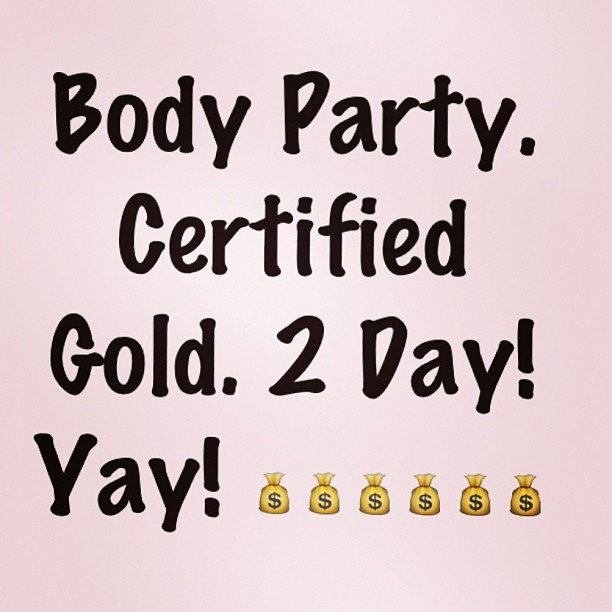@Ciara: BODY PARTY GOLD. THANK YOU!!!
