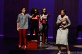 On-stage performance by 'da Kink in My Hair' cast/Photo by: Dennis Byron