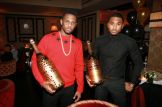 Fabolous & Trey Songz show off bottles