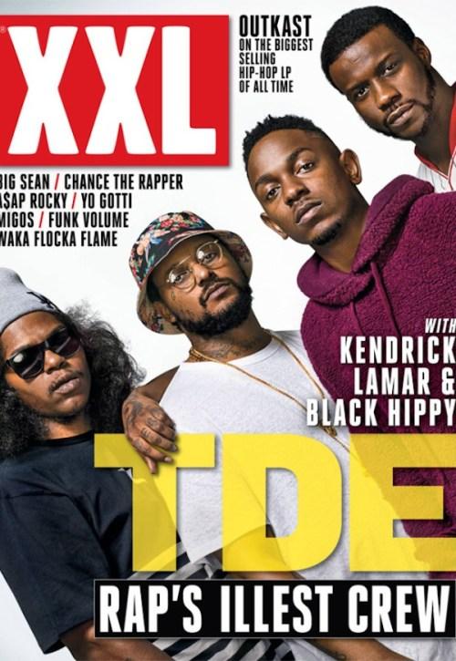 XXL TDE Black Hippy  November 2013