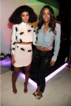 Solange and Kelly Rowland