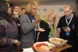 Serena Williams Grabbing a Snack 2
