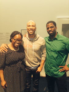 Common, Rhymefest and Donnie Smith