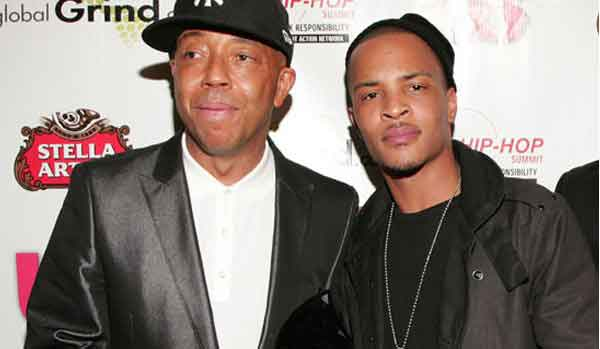 t.i. and russell simmons