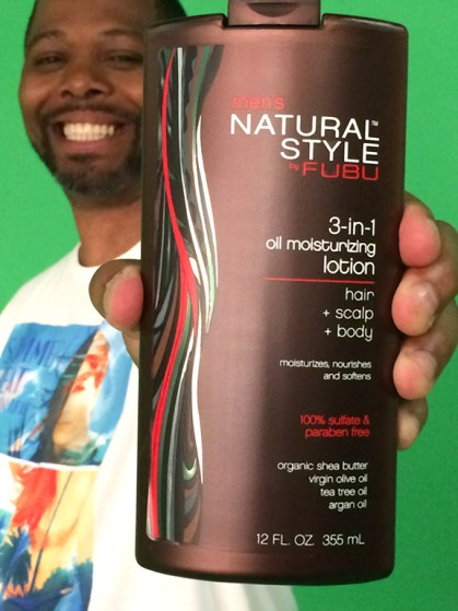 Carl Brown, Natural Style by FUBU/Credit: Carla Carla Lopez-Brown
