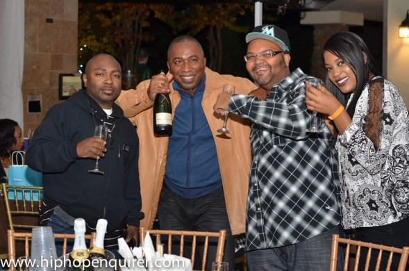 """Dennis Byron of Hip Hop Enquirer's Birthday Celebration."""