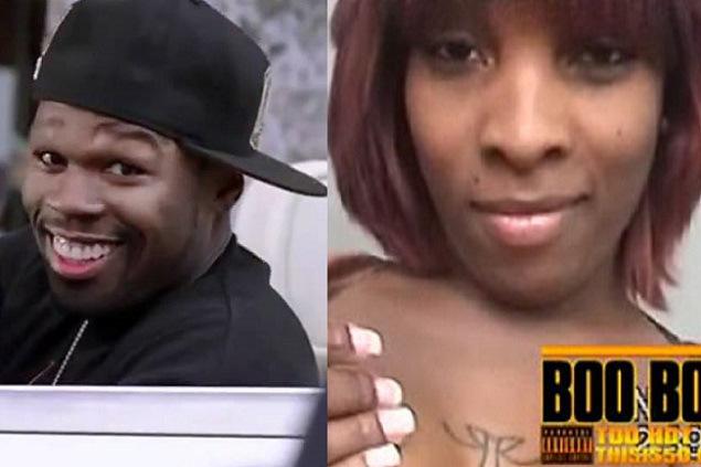 50 Cent and Lastonia Levinston
