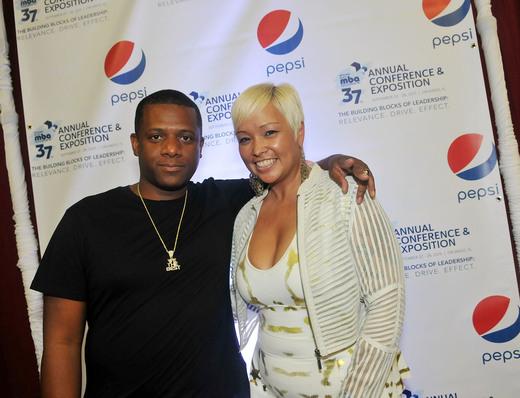 DJ Nasty and DJ Tamera James
