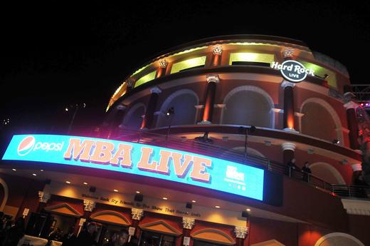 Pepsi MBA Live atmosphere - outside