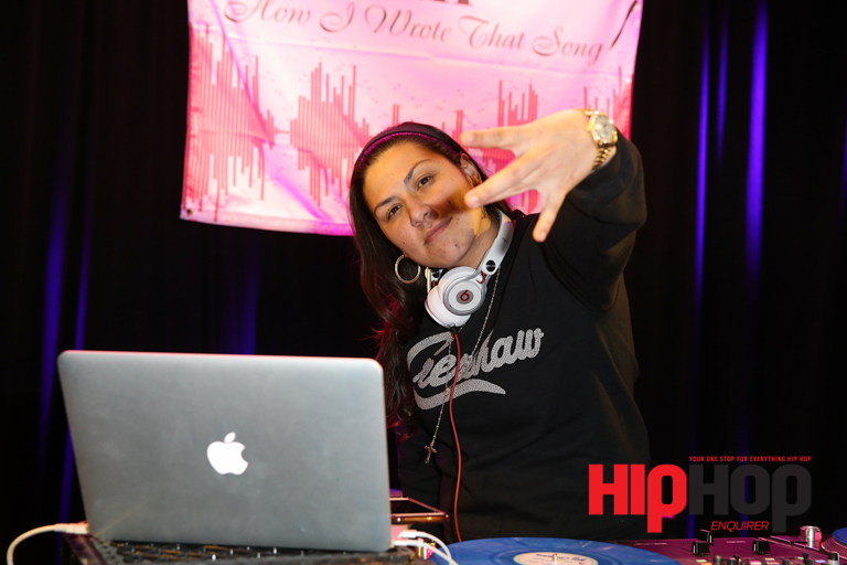 LOS ANGELES, CA - FEBRUARY 13:  DJ Carisma performs at BMI's How I Wrote That Song Panel at Roxy on February 13, 2016 in Los Angeles, California.  (Photo by Joe Scarnici/Getty Images for BMI) *** Local Caption *** DJ Carisma