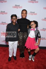 "ATLANTA, GA - OCTOBER 26: Alkoya Brunson, Nadej Bailey, and Marley Taylor attend ""Almost Christmas"" Atlanta screening at Regal Cinemas Atlantic Station Stadium 16 on October 26, 2016 in Atlanta, Georgia. (Photo by Paras Griffin/Getty Images for Universal Pictures)"