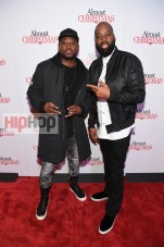 "ATLANTA, GA - OCTOBER 26: Omar Epps and David E. Talbert attend ""Almost Christmas"" Atlanta screening at Regal Cinemas Atlantic Station Stadium 16 on October 26, 2016 in Atlanta, Georgia. (Photo by Paras Griffin/Getty Images for Universal Pictures)"