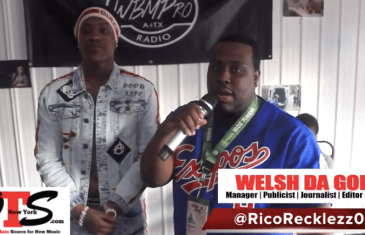 (Video) Rico Recklezz With Welsh Da God INTERVIEW ONTHESCENENY @welsh_ci @ricorecklezz