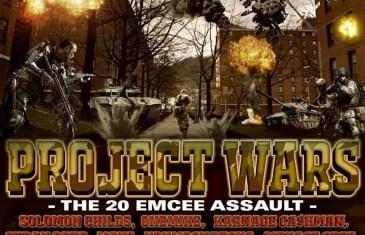 (Audio) B Dvine Presents: Project Wars The 20 Emcee Assault @BDVINE631