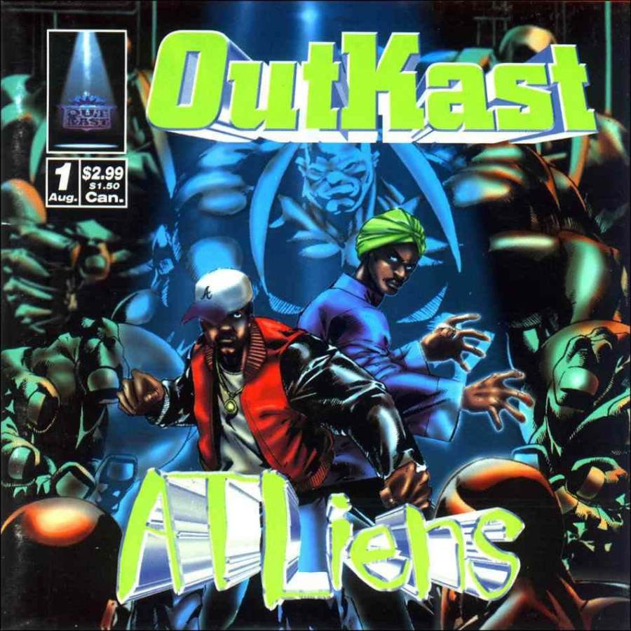 Outkast - Two Dope Boyz (In A Cadillac) (1996)