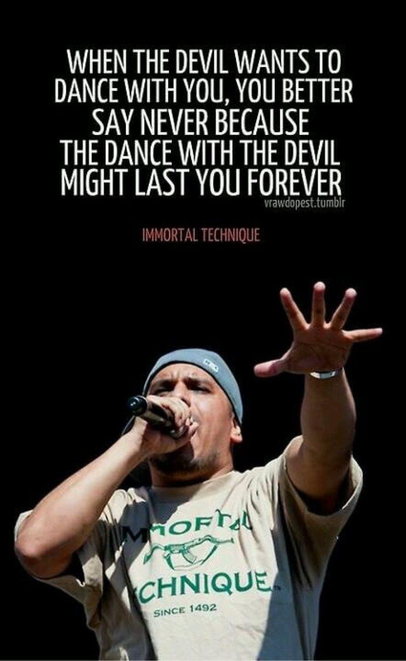 "Immortal Technique ""Dance With The Devil"" (2001)"