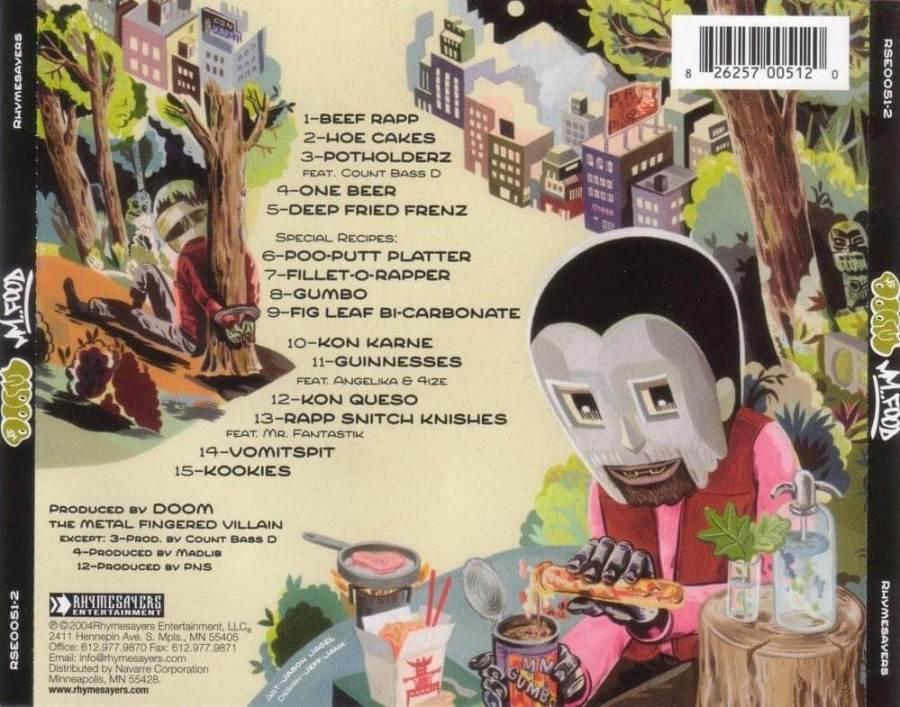 MF Doom - Mm.. Food   Album Review