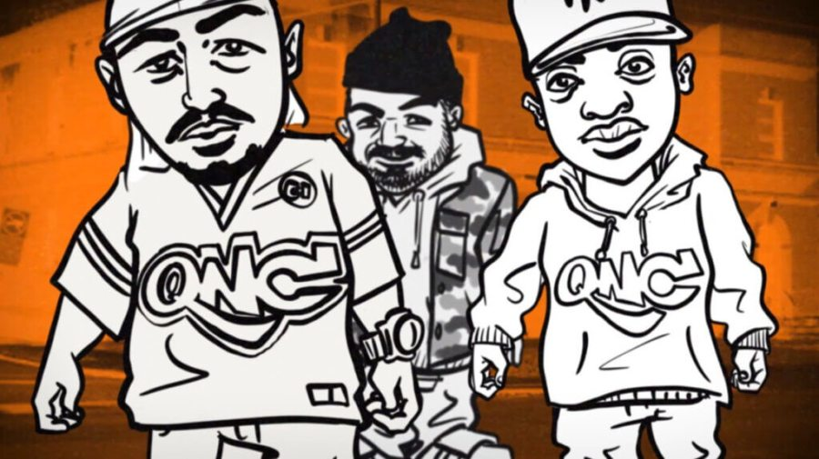 """Roccwell feat. QNC (Q-Ball & Curt Cazal) """"From CI"""" Animated Music Video"""