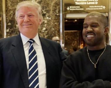 Kanye West rencontre Trump à la Trump Tower