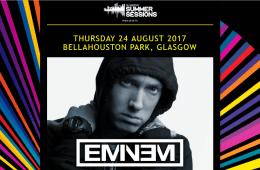 Eminem sera présent pour la seconde fois aux Glasgow Summer Sessions