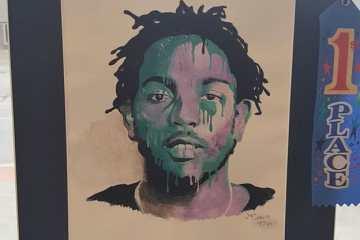 Grâce à Tiona Cordova Kendrick Lamar a son portrait exposé au Capitol des Etats-Unis