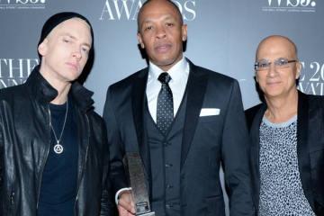 """Eminem : """"Jimmy Iovine est le levier, Dr. Dre est l'innovateur"""""""