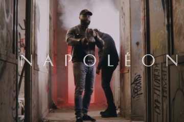 """Le rappeur du 93 a, une nouvelle fois, prêté main forte à un artiste de chez lui pour le surpuissant """"Napoléon"""" avec DorSaux."""