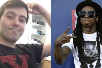 Martin Shkreli a fait fuiter un extrait de Tha Carter V de Lil Wayne & Kendrick Lamar