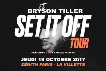 Gagnez vos places pour assister au concert de Bryson Tiller à Paris