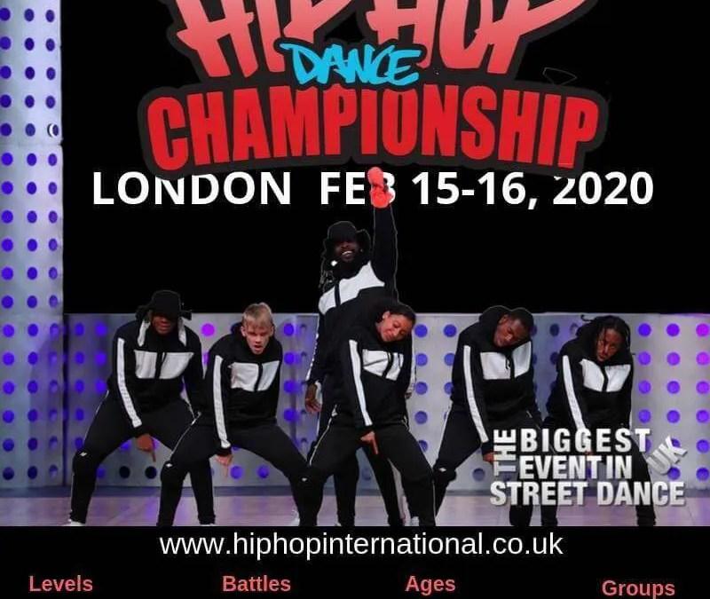 Announcing the UK Hip Hop Dance Championship 2020 – LONDON!