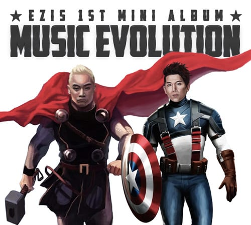 EZIS - Music Evolution cover