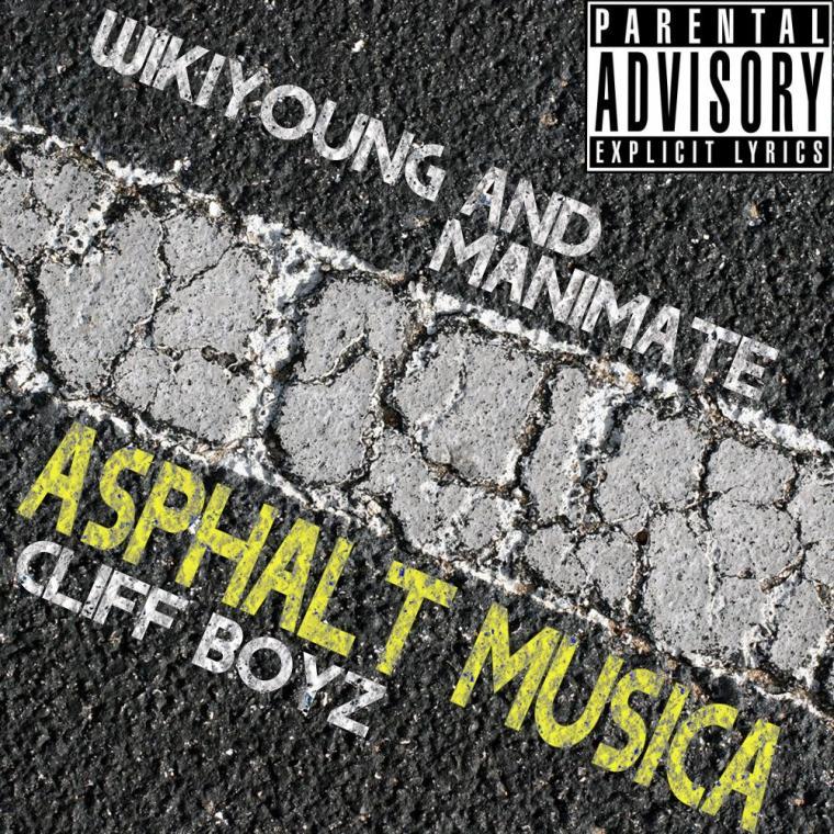 Cliff Boyz - Asphalt Musica mixtape Vol. 1 cover